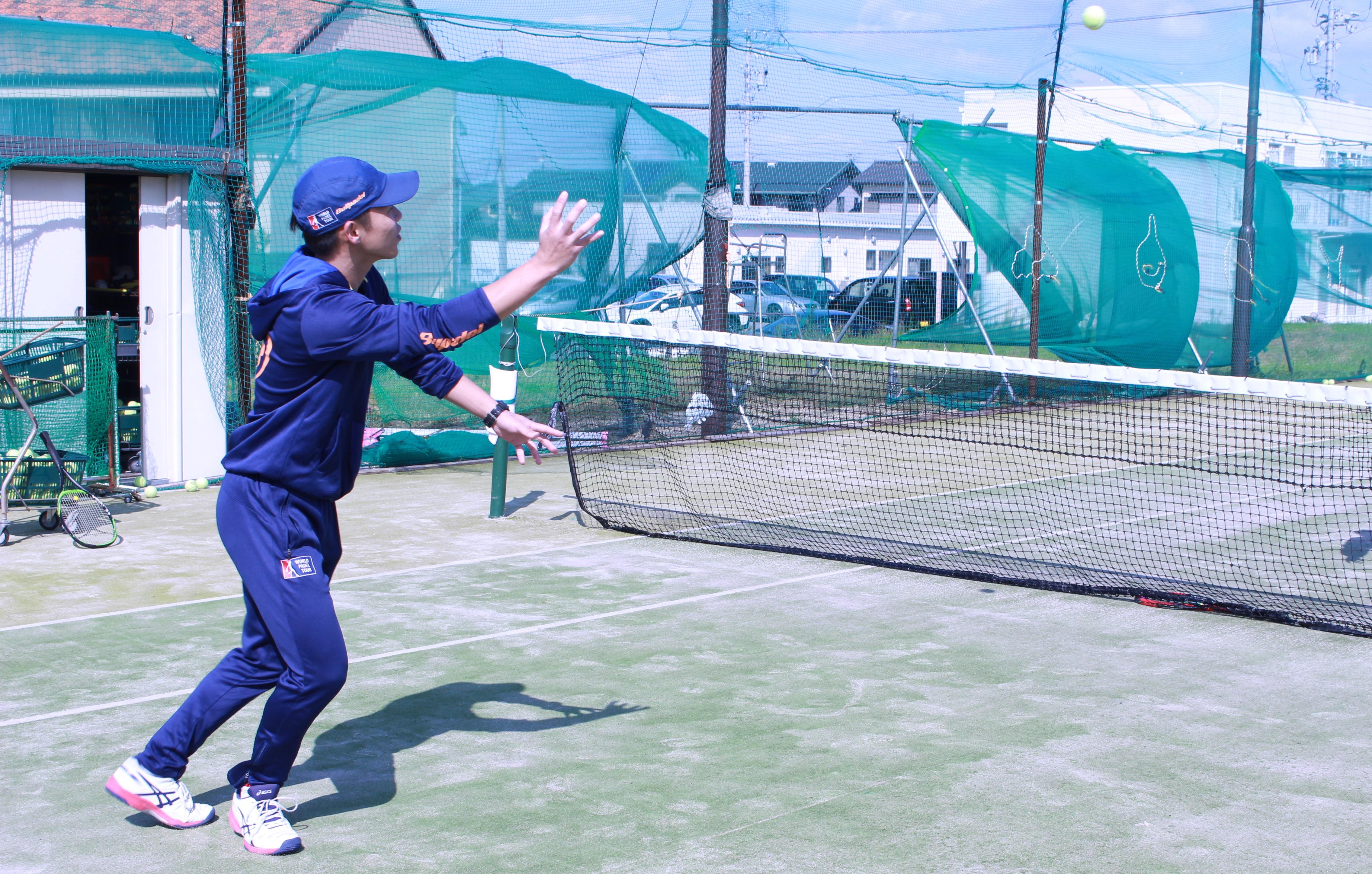 テニス ボレーの練習法『キャッチボールで気を付けたい3つのポイント!』