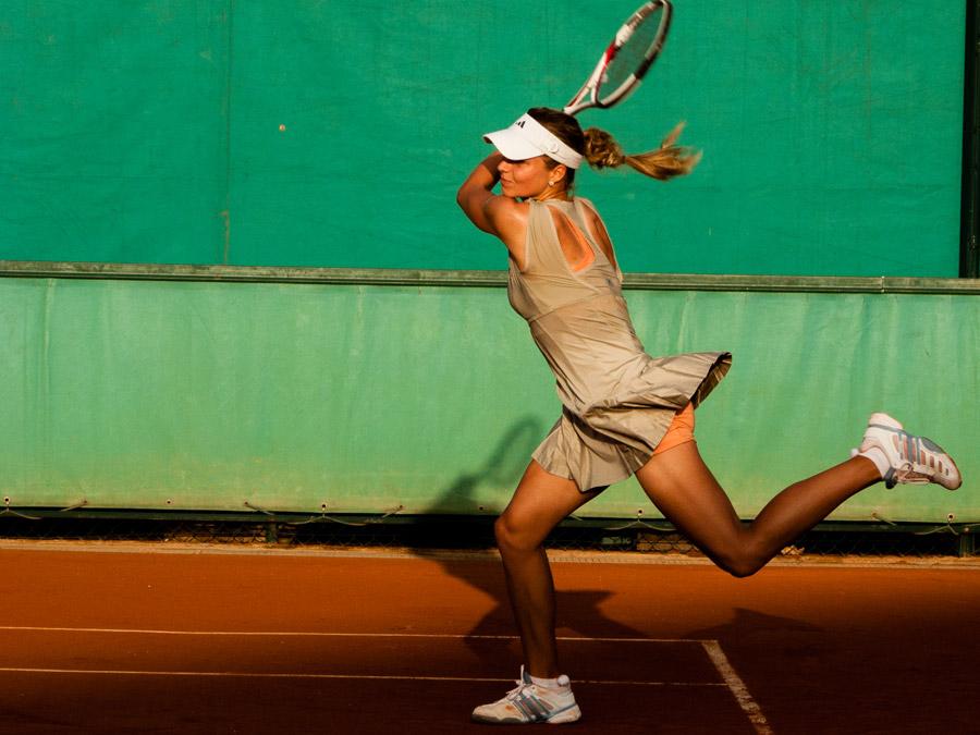 テニスプレイヤー
