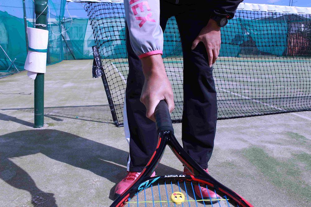 サーブ テニス ラケット 持ち方 ウエスタン