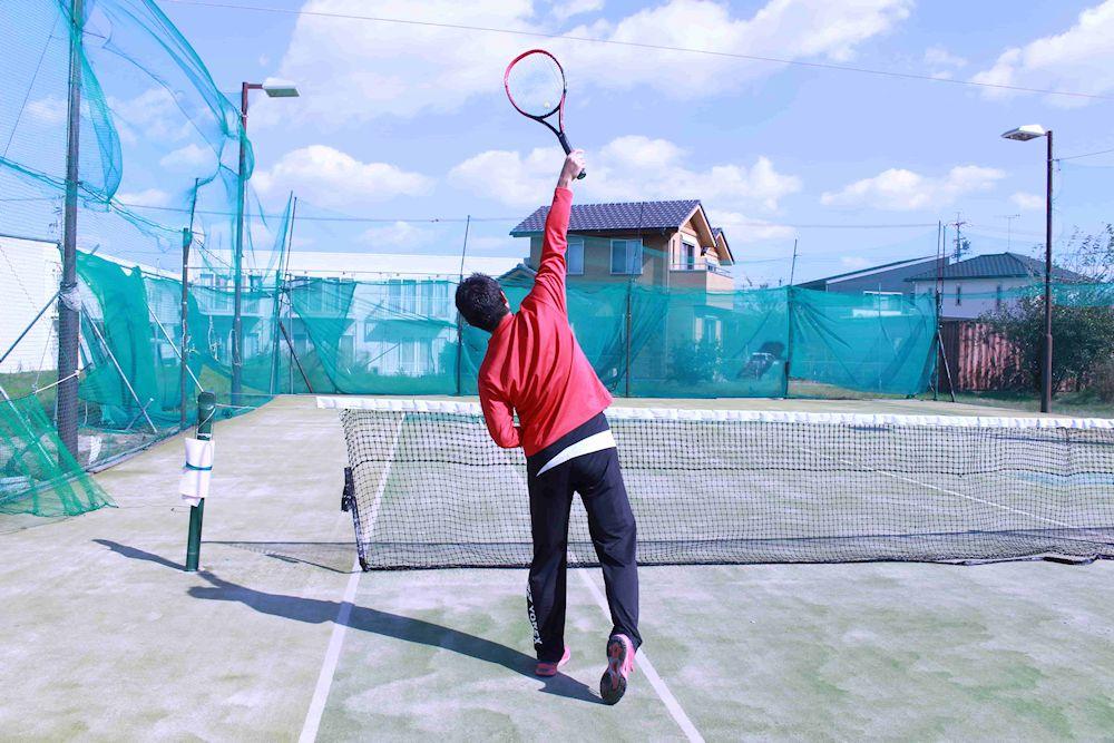テニス サーブ『プロネーションできないときは?』コツは親指です