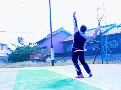 テニス サーブ『新しい基本の打ち方』え?打ちやすいように打つのがコツ!!?